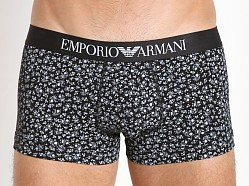 Emporio Armani Classic Prints Trunk Black/White