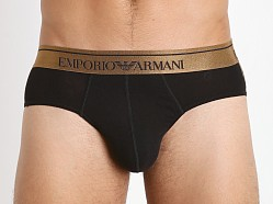 Emporio Armani Metal Brief Black