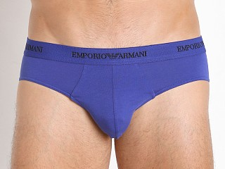 Emporio Armani Stretch Cotton 2-Pack Brief Royal/Royal