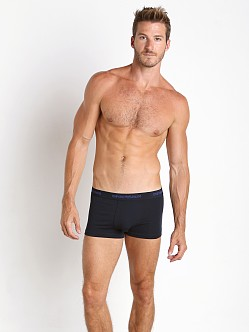 Emporio Armani Stretch Cotton 2-Pack Trunk Marine/Marine