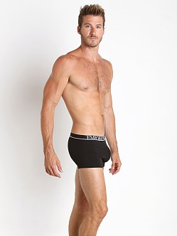 Emporio Armani Metal Logo Trunk Black