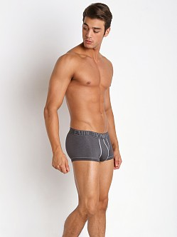 Emporio Armani Cotton Trunk Asphalt Grey