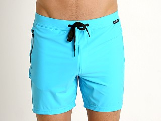 Gregg Homme Exotic Swim Shorts Aqua