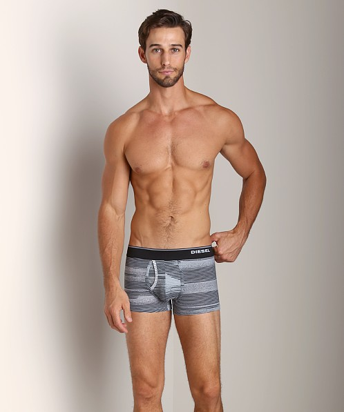 Diesel Striped Divine Trunk Black/Grey