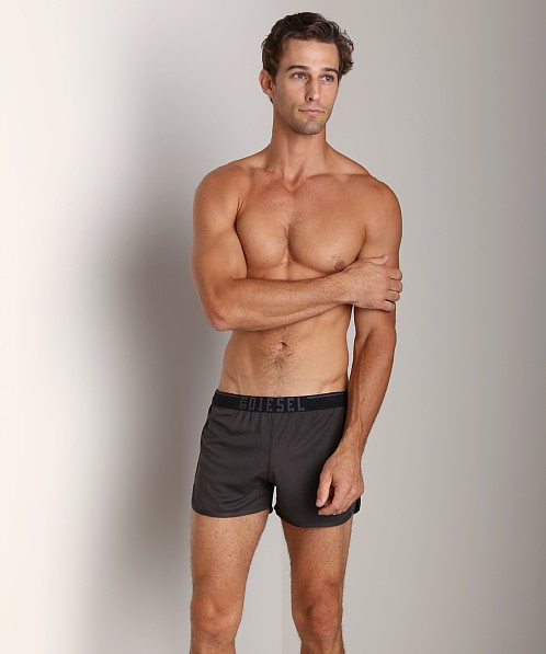 Diesel Reefy Athletic Shorts Grey