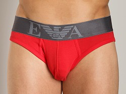 Emporio Armani Soft Hip Brief Red