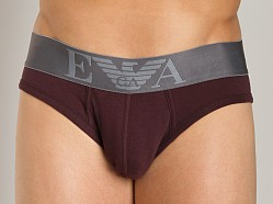 Emporio Armani Soft Hip Brief Burgundy