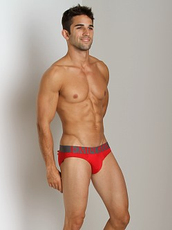 Emporio Armani Eagle Stretch Cotton Brief Red