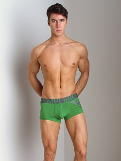 Emporio Armani Eagle Stretch Cotton Trunk Mint Green