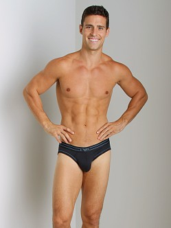 Emporio Armani Contrast Piping Hip Brief Marine