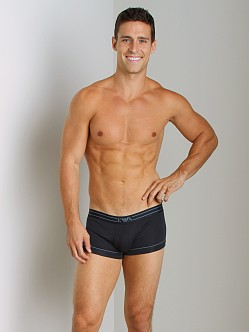 Emporio Armani Contrast Piping Trunk Marine