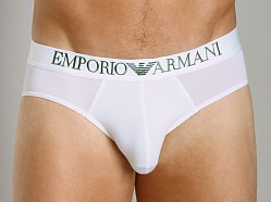 Emporio Armani Modal Hip Brief White