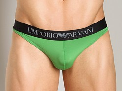 Emporio Armani Sleek & Trim Thong Mint Green