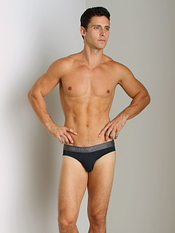 Emporio Armani Shine Waistband Brief Marine