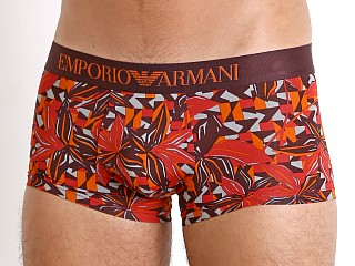 Emporio Armani All Over Print Logo Trunk Flower Print