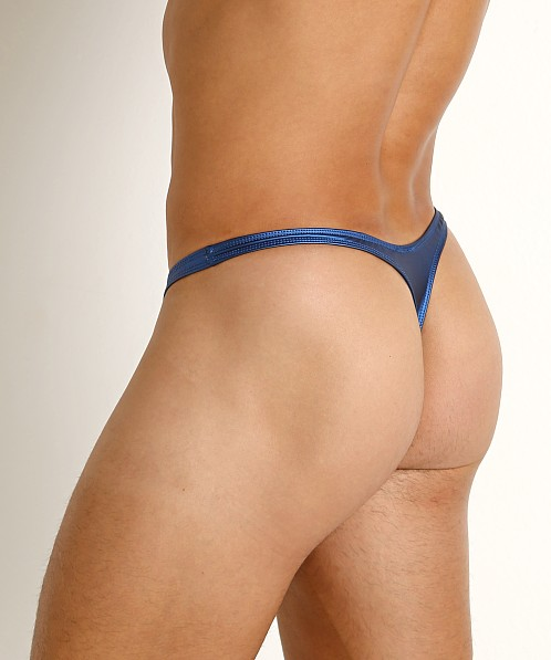 Rick Majors Liquid Skin Thong Blue Steel
