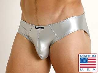 Rick Majors Liquid Skin Hip Brief Silver