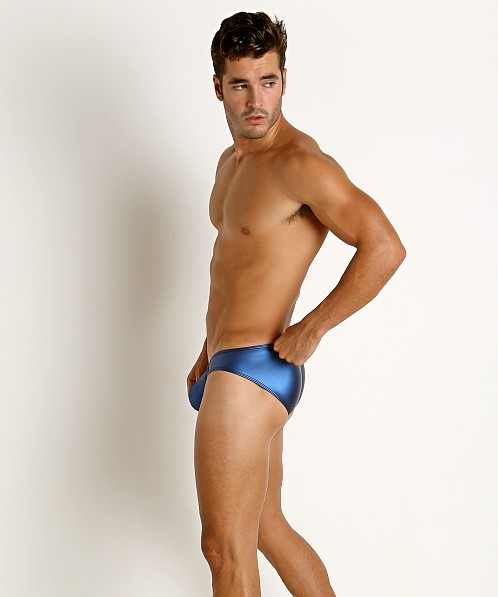 Rick Majors Liquid Skin C-Ring Brief Blue Steel