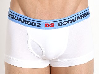 DSQUARED Classic Cotton Trunk White