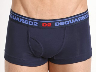 DSQUARED Classic Cotton Trunk Blue