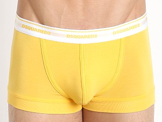DSQUARED Vibrant Microfiber Trunk Yellow