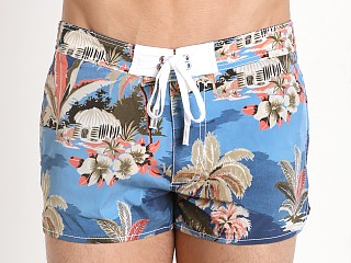 DSQUARED Paradise Swim Shorts Light Blue
