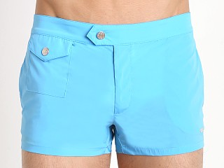 DSQUARED Retro Swim Trunk Light Blue