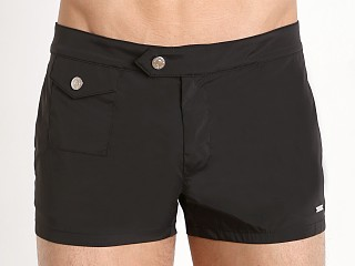 DSQUARED Retro Swim Trunk Black
