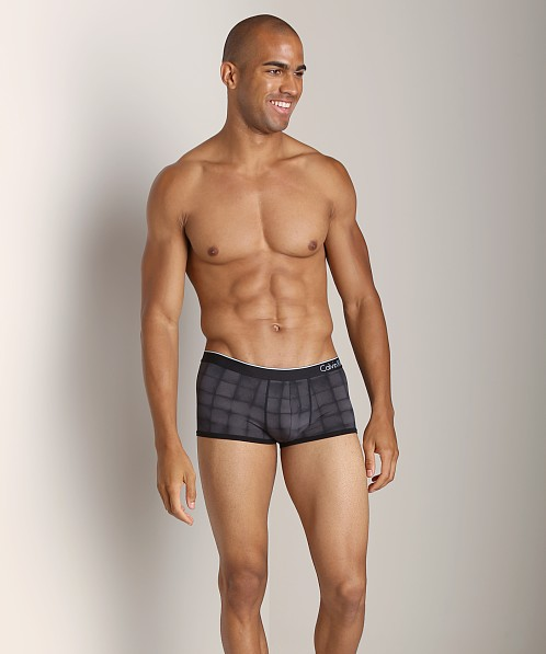 Calvin Klein CK One Micro Low Rise Trunk Penciled Block