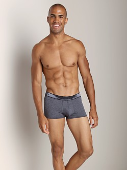 Calvin Klein Micro Heather Low Rise Trunk Charcoal