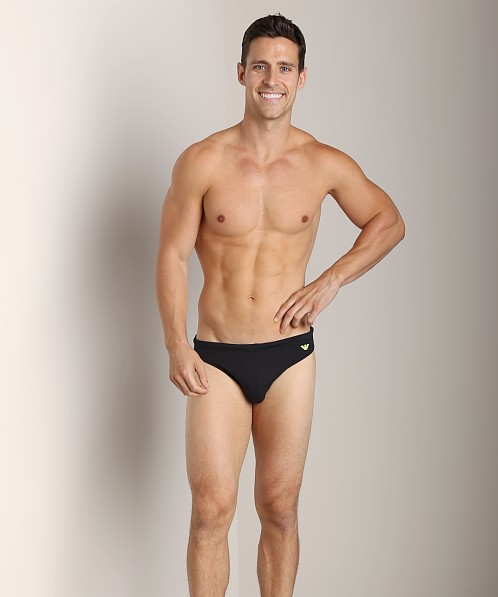 Emporio Armani Classic Lycra Swim Brief Black