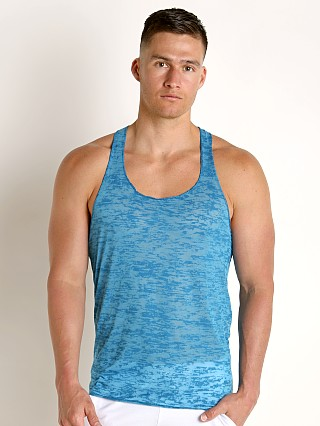Complete the look: LASC Burn Out String Tank Turquoise