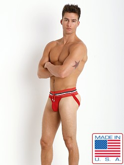 Pistol Pete Devious Drawstring Jockstrap Red