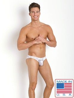 Pistol Pete Star Mesh Brief White