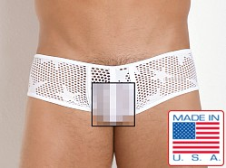 Pistol Pete Star Mesh Trunk White