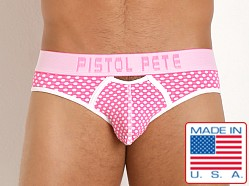 Pistol Pete Marquee Brief Pink