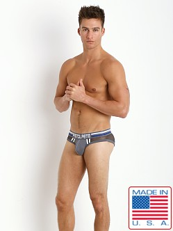 Pistol Pete Nitro Brief Charcoal