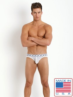 Pistol Pete Scope Jockstrap White