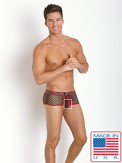 Pistol Pete Xpose Mesh Trunk Black