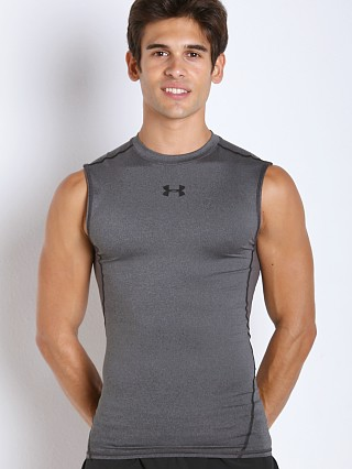 Complete the look: Under Armour Heatgear Sleeveless Compression Tee Carbon Heather