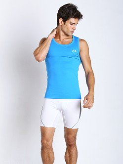 Under Armour Original Series Heatgear Tank Blue/Yellow