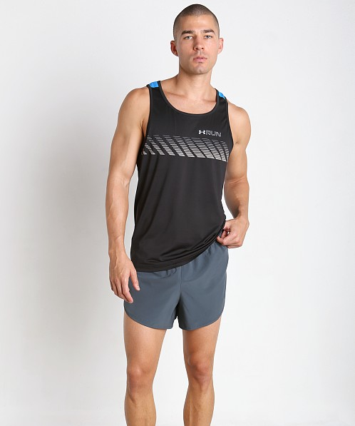 Under Armour Armourvent Apollo Running Tank Black