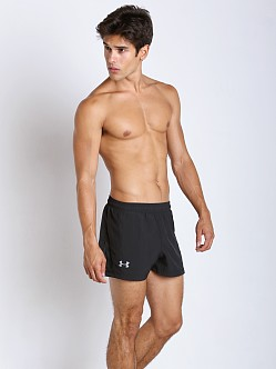 Under Armour Launch Split Running Short Black