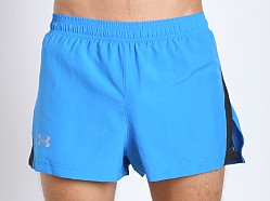 Under Armour Launch Split Running Short Blue Jet