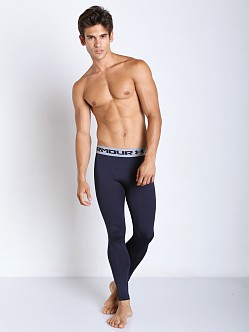 Under Armour Heatgear Compression Legging Midnight Navy