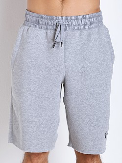 Under Armour Crotch Gusset Gym Short True Grey Heather
