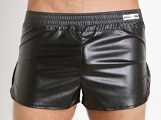 Modus Vivendi Blend Leather Look Short Black