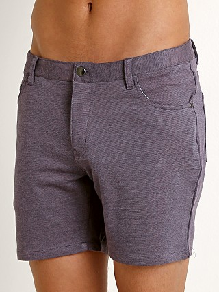 Complete the look: St33le Stretch Jeans Shorts Purple