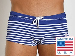 Pistol Pete Frequency Swim Trunk Royal