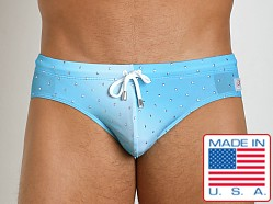 Pistol Pete Aurora Swim Brief Turquoise